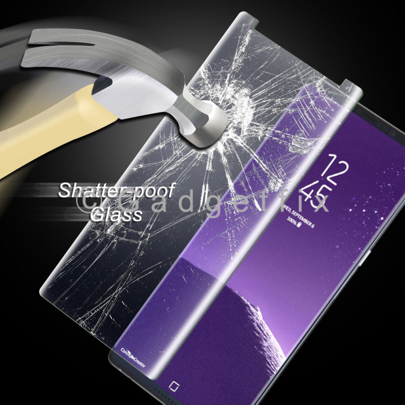 9H Premium Tempered Glass LCD Screen Protector Guard For Samsung Galaxy Note 8
