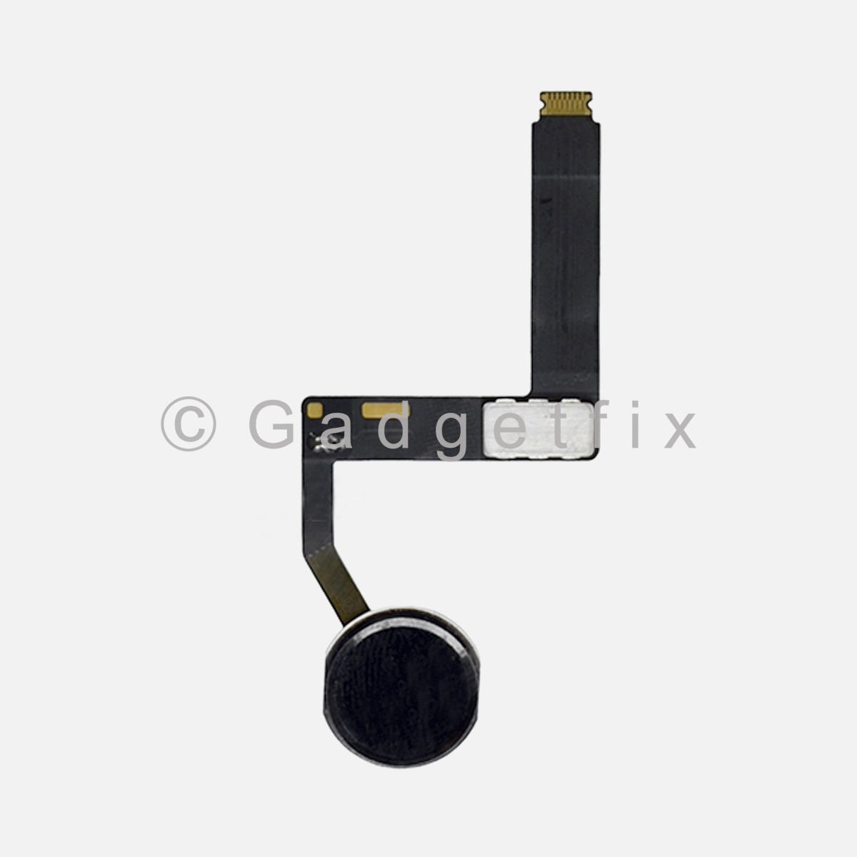 Black Home Menu Button Flex Cable Replacement for iPad Pro 9.7 A1673 A1674 A1675