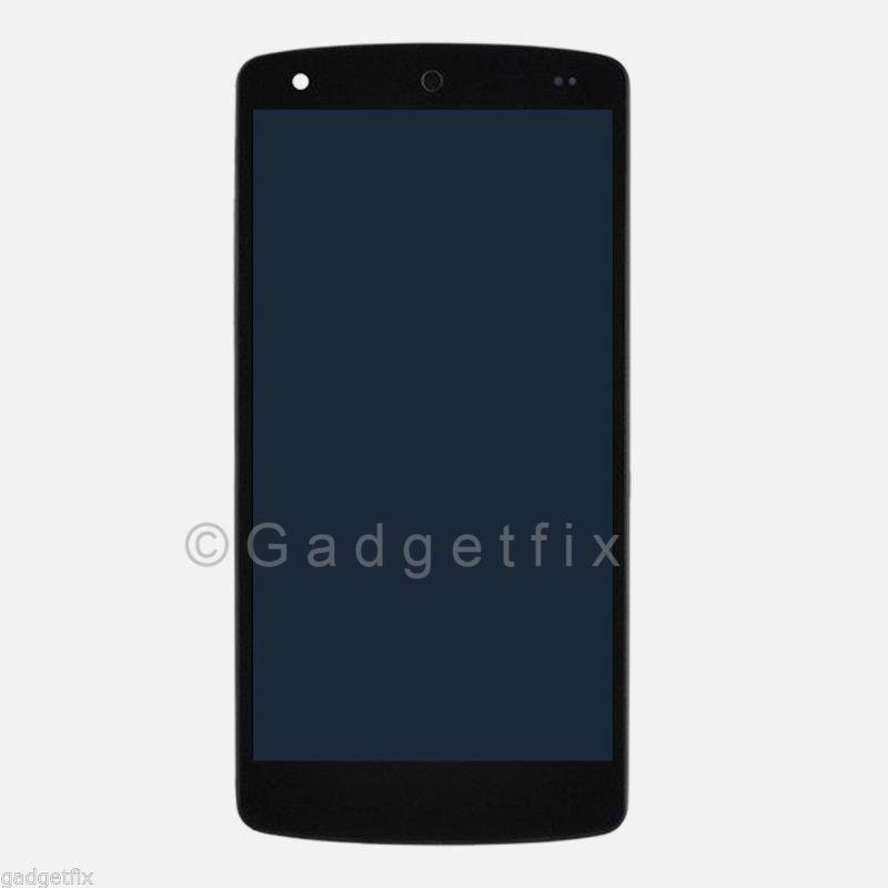 Black LG Google Nexus 5 D820 D821 LCD Screen Digitizer Touch + Matte Frame Bezel