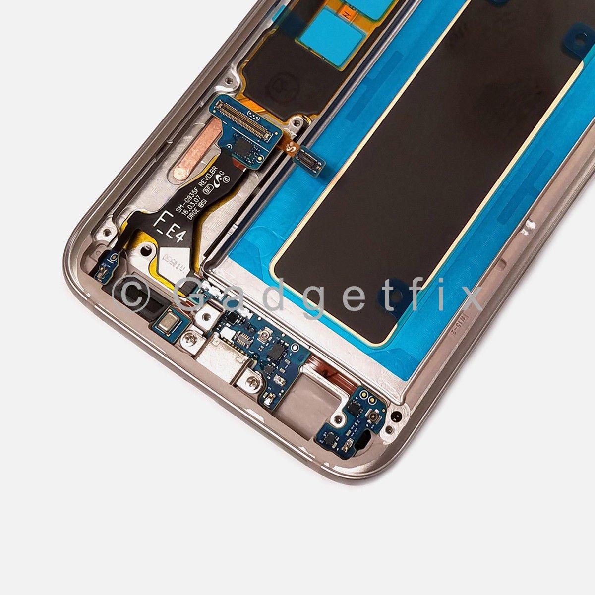 OEM Samsung Galaxy S7 Edge G935A G935T G935V G935P LCD Touch Screen Digitizer Frame