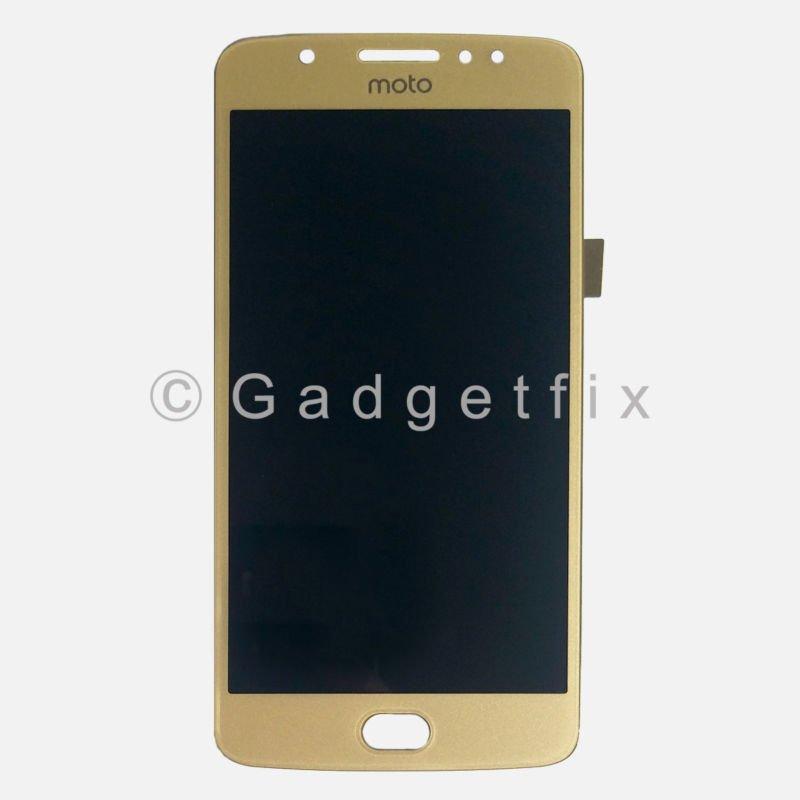 Gold LCD Touch Screen Digitizer Assembly For Motorola Moto E4 XLTE XT1767 XT1767PP