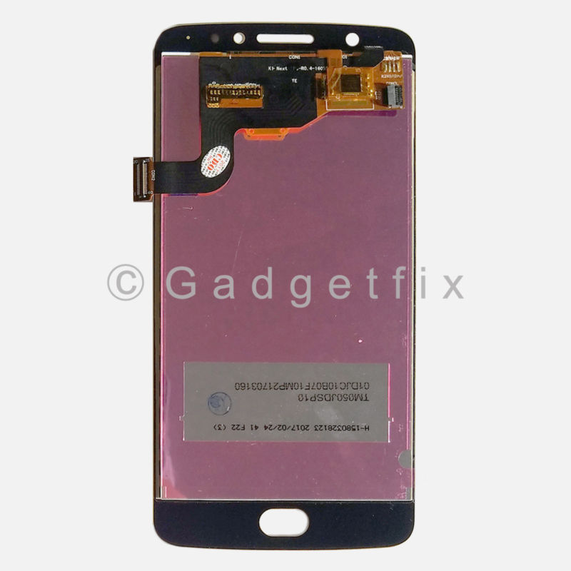 Gold LCD Touch Screen Digitizer Assembly For Motorola Moto E4 XLTE XT1767 XT1767PP