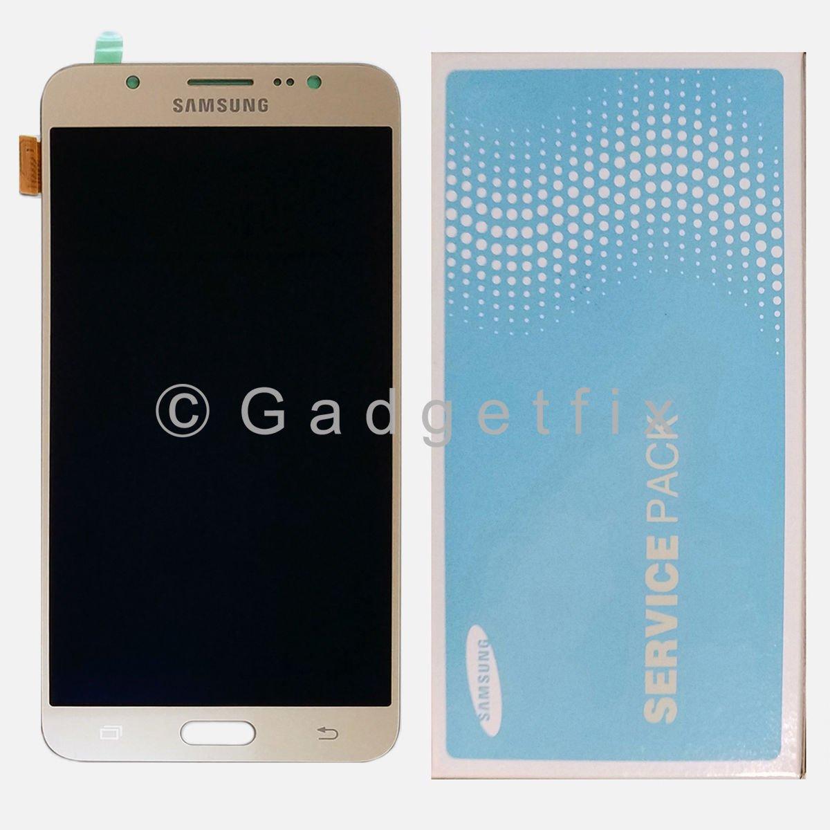 Gold Samsung Galaxy J7 2016 J710 J710F J710K J710MN J7108 LCD Display Touch Screen Digitizer