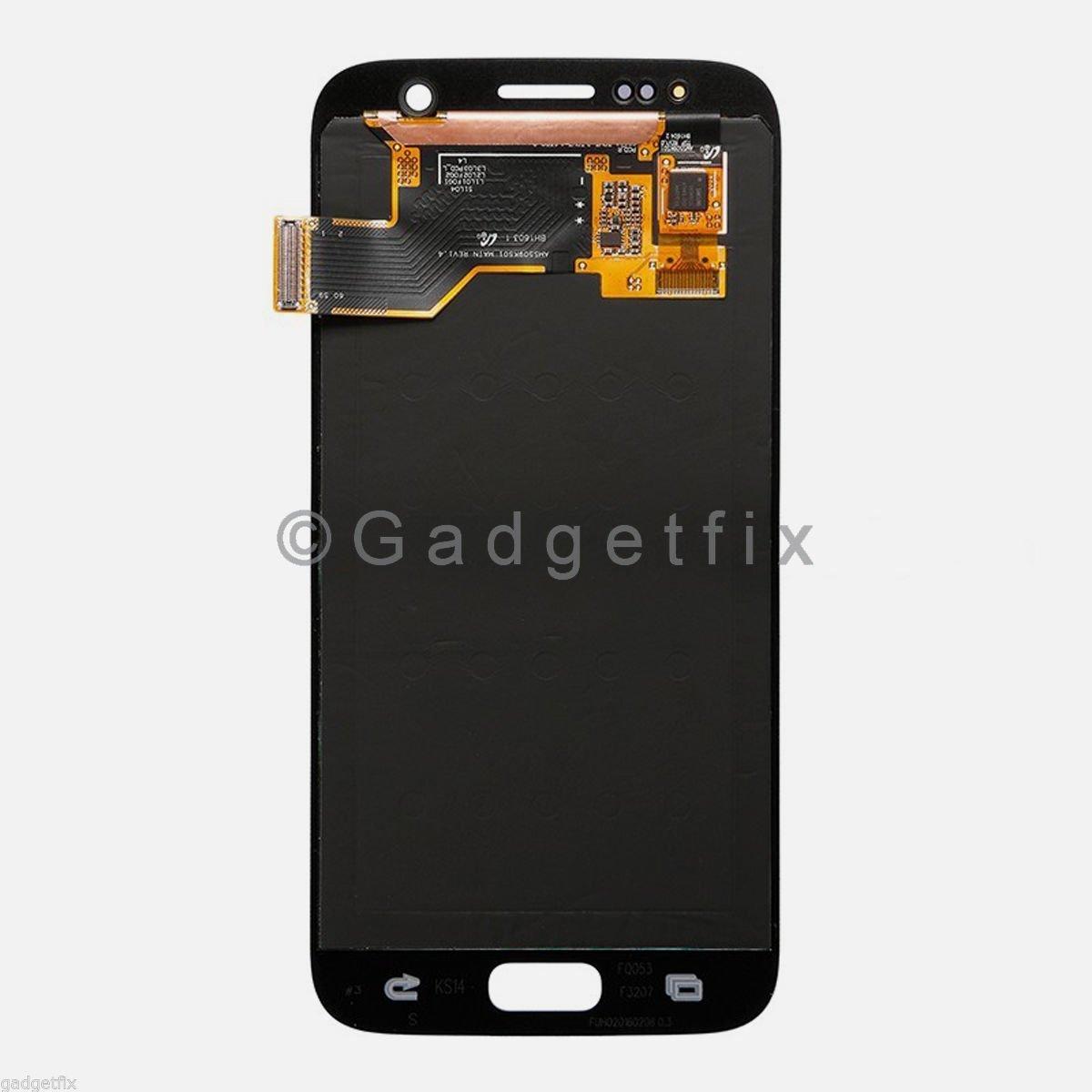 Gold Samsung Galaxy S7 G930T G930A G930V G930P LCD Display Touch Screen Digitizer