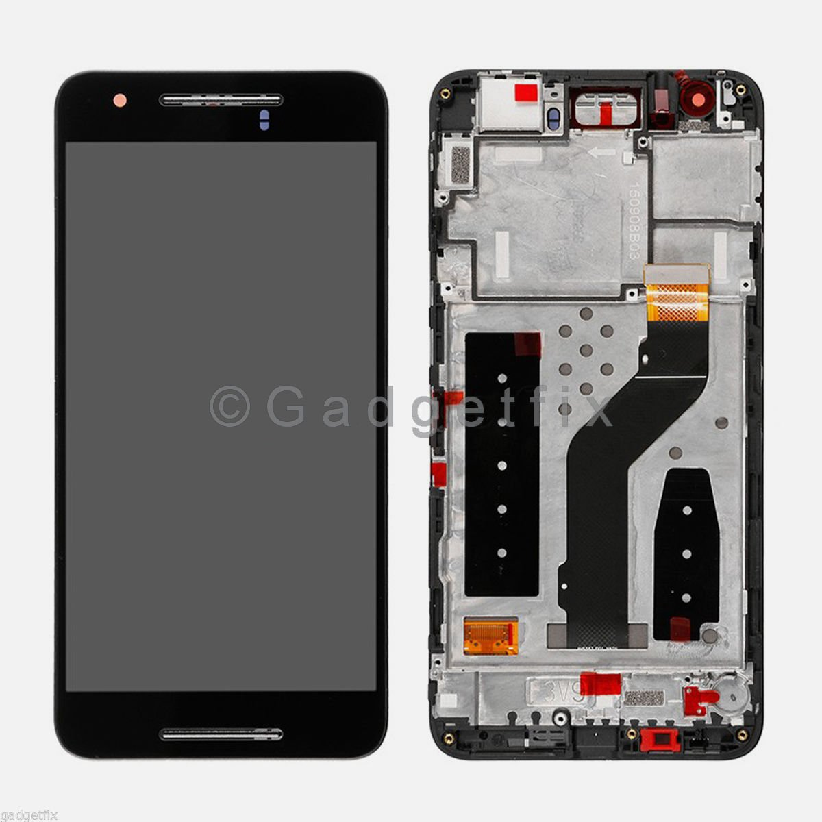 Google Huawei Nexus 6P H1511 H1512 LCD Display + Touch Screen Digitizer + Frame