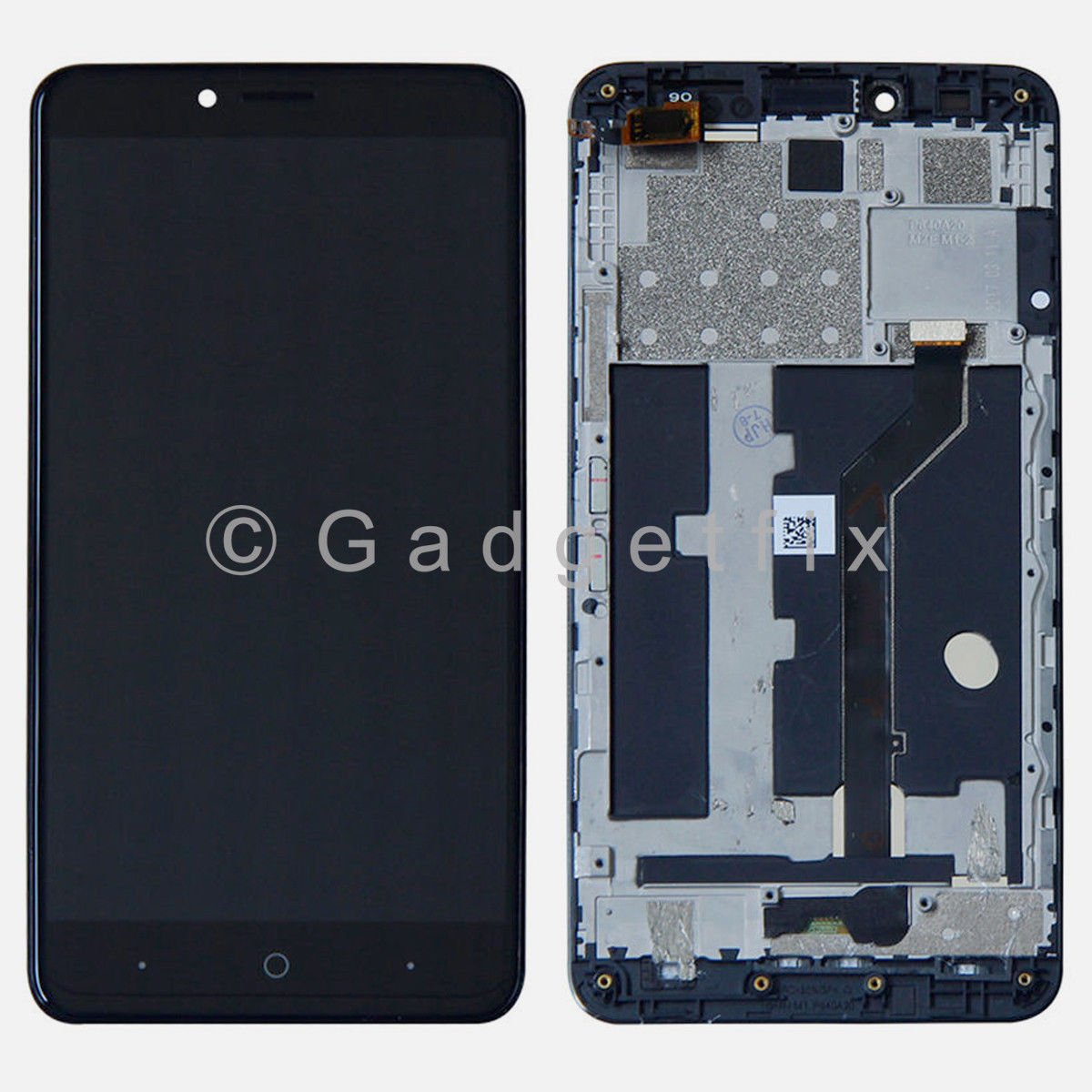 LCD Display Touch Screen Digitizer + Frame Replacement For ZTE Blade X Max Z983