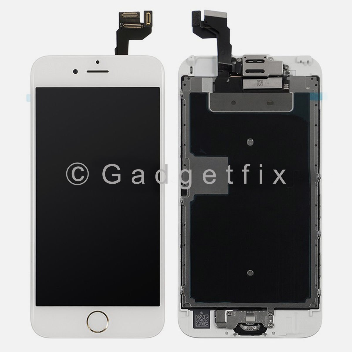 LCD Display Touch Screen Digitizer Lens Assembly + All Parts for Gold Iphone 6S