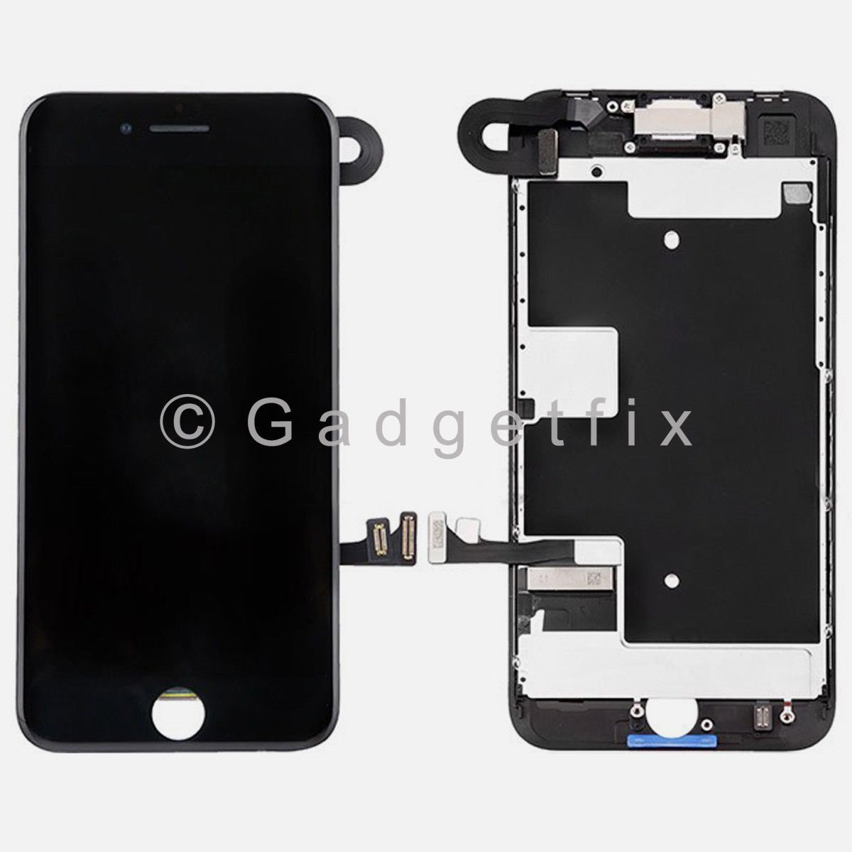 LCD Screen Touch Screen Digitizer + Camera Sensor Replacement Part For iPhone 8