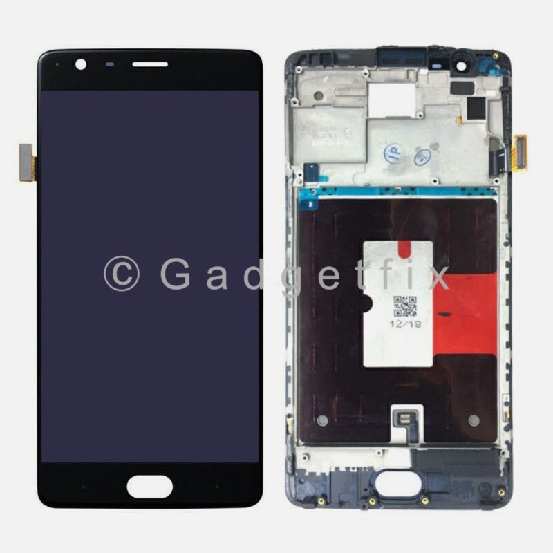 New LCD Display Touch Screen Digitizer + Frame For OnePlus 3 Three ...