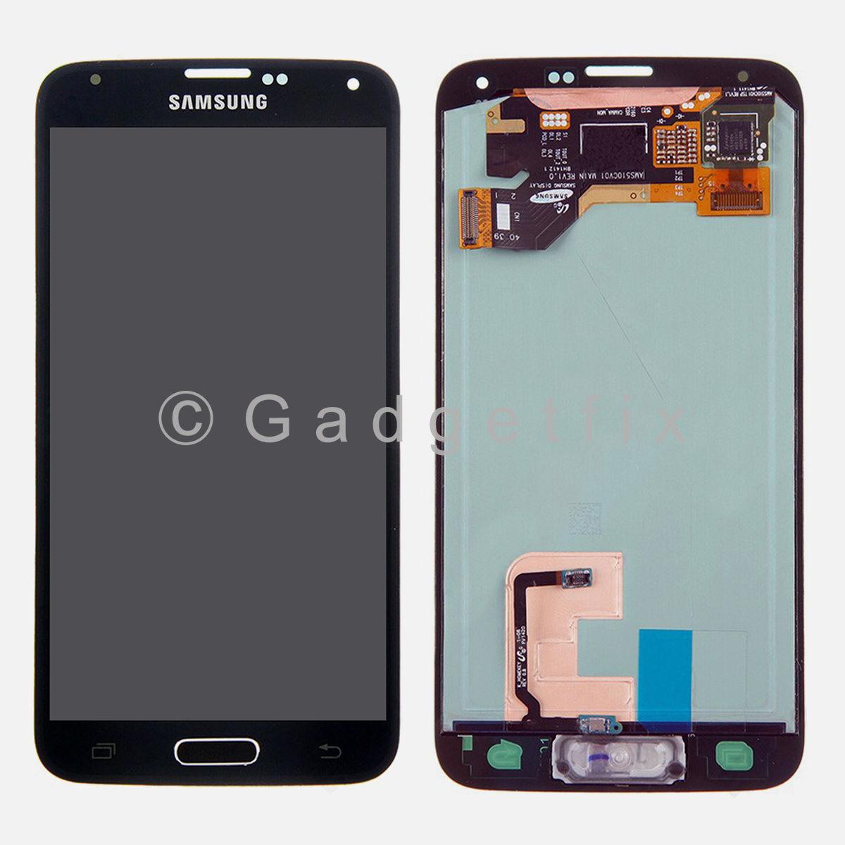 New Samsung Galaxy S5 G900A G900T G900V G900P LCD Screen Touch Screen Digitizer
