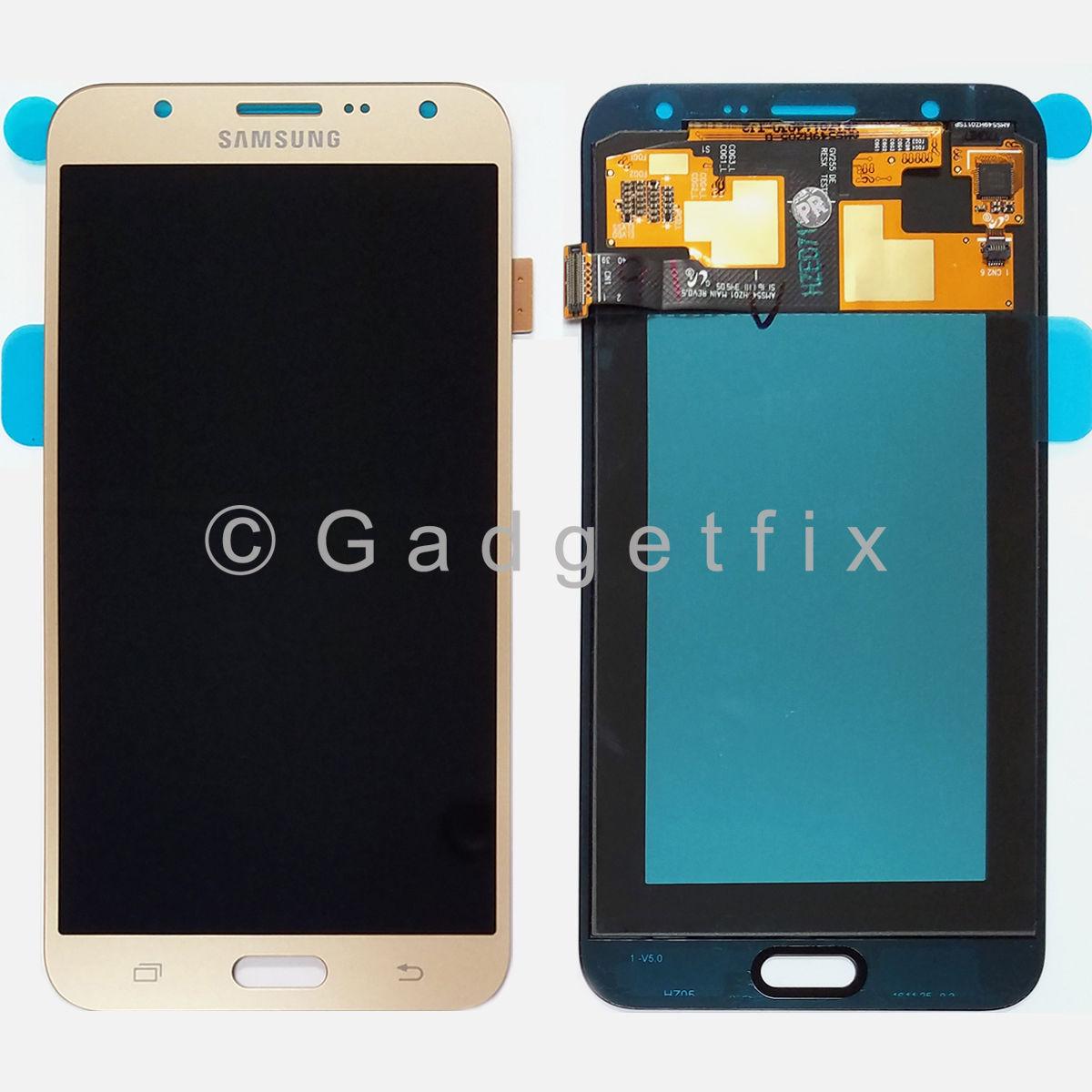 OEM Gold Samsung Galaxy J7 J700 J700F J700P LCD Display Touch Screen Digitizer