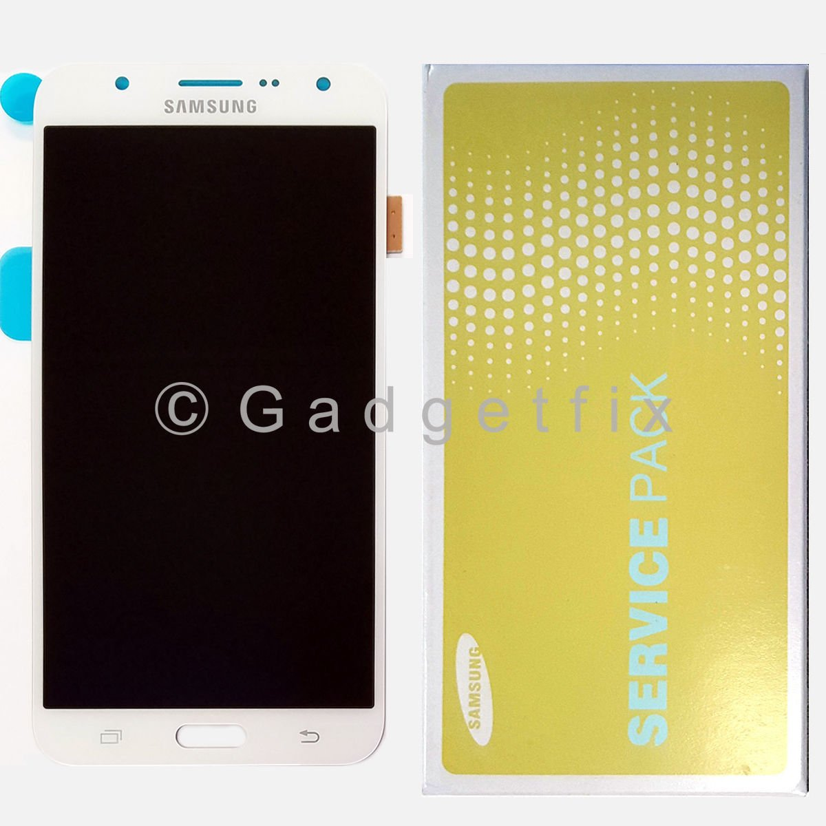 OEM White Samsung Galaxy J7 J700M J700H J700T LCD Display Touch Screen Digitizer
