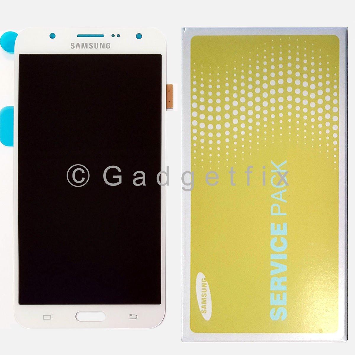 OEM White Samsung Galaxy J7 J700 J700F J700P LCD Display Touch Screen Digitizer