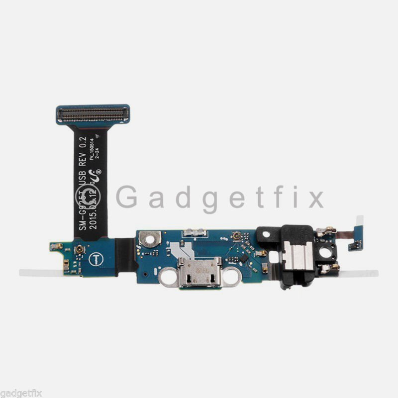 T-Mobile Samsung Galaxy S6 Edge G925T Charging Port USB Dock Mic Jack Flex Cable