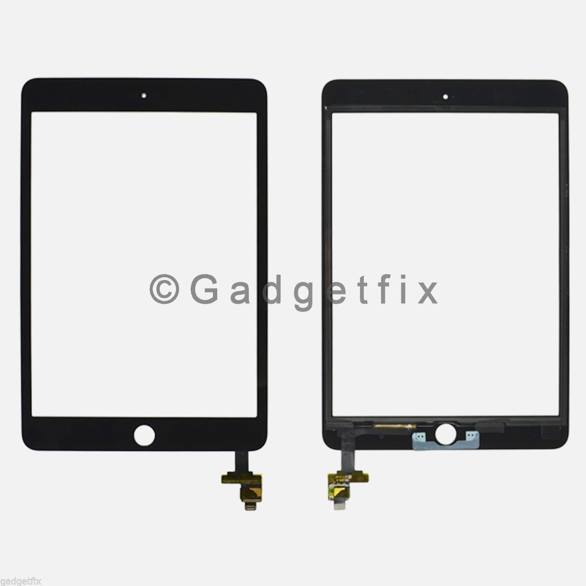 Touch Screen Digitizer Glass + IC Board Flex Connector for Ipad Mini 3 3rd Gen