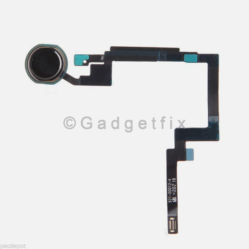 Black Home Button Sensor Connector Flex Cable Ribbon Repair for Ipad Mini 3