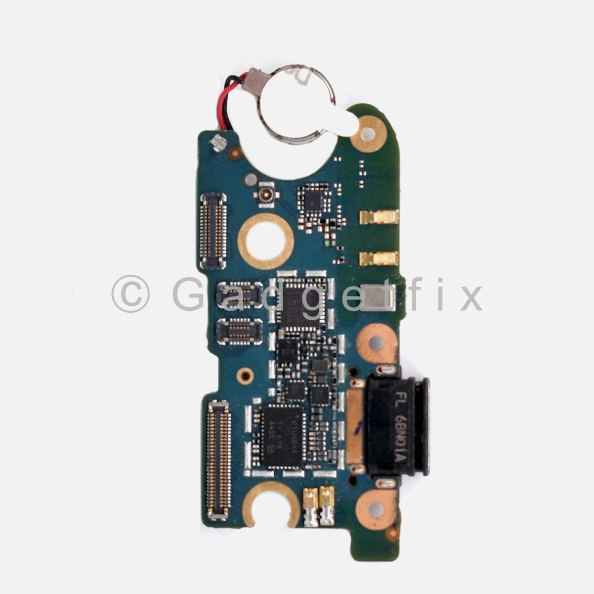 HTC U11 USB Charging Port Dock Connector Mic Vibrator Flex Cable Replacement