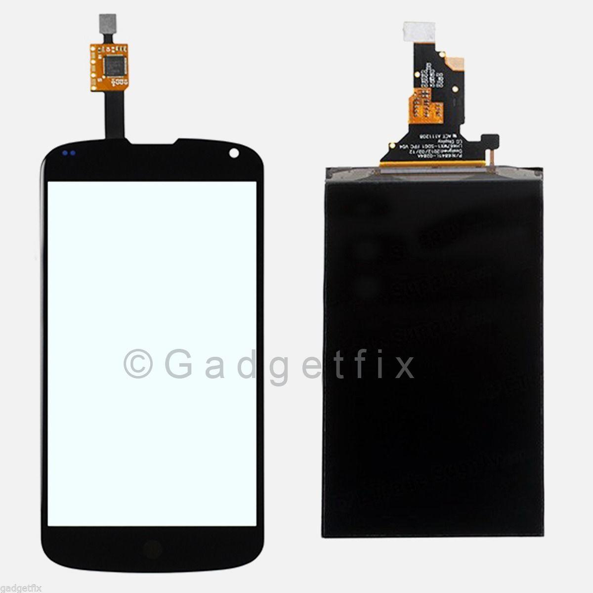 LG E960 Google Nexus 4 Touch Screen Digitizer + LCD Screen Display Assembly