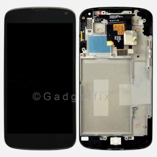 LG Google Nexus 4 E960 LCD Screen Display + Touch Screen Digitizer + Frame