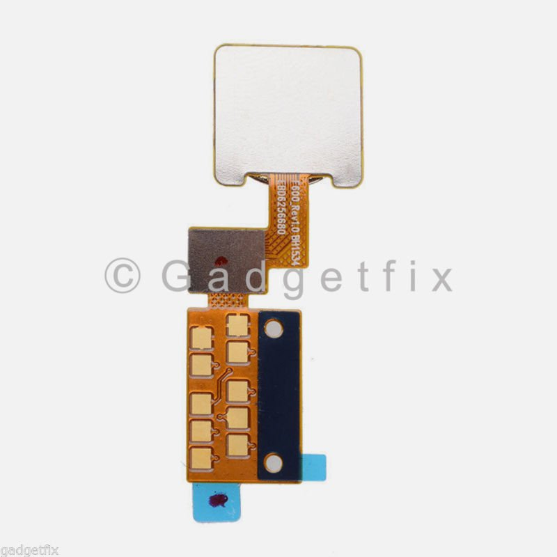 USA New Flex Cable Ribbon Home Button Touch ID Sensor For LG