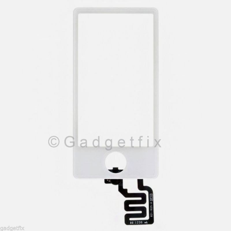 New White Digitizer Touch Screen Glass Panel for Apple iPod Nano 7 7th Gen
