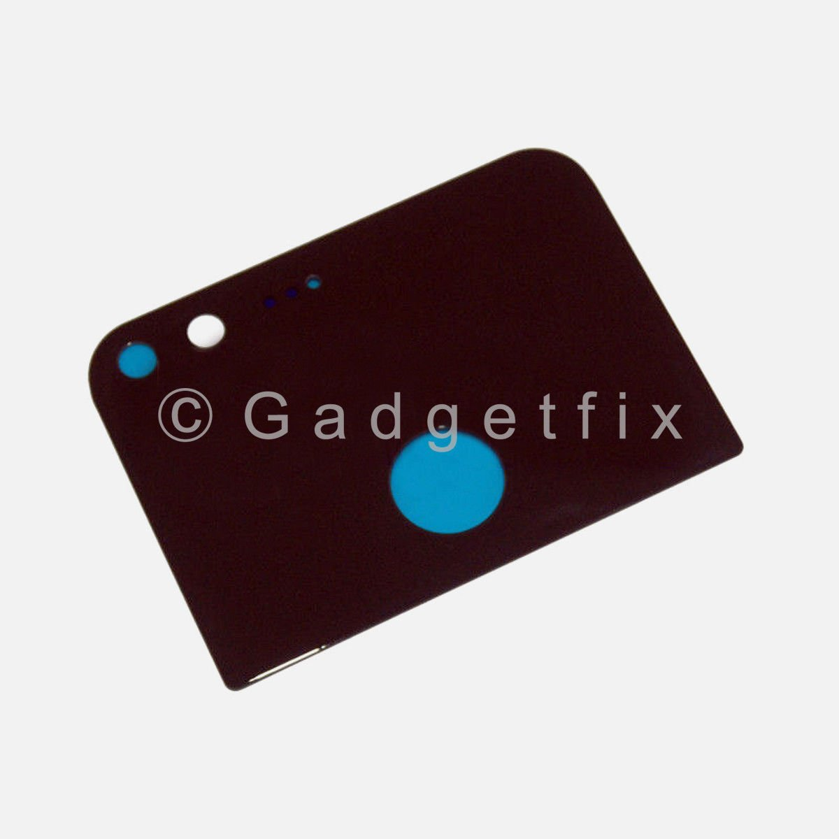 Black Back Camera Glass Lens Cover With Adhesive For Google Pixel 5.0