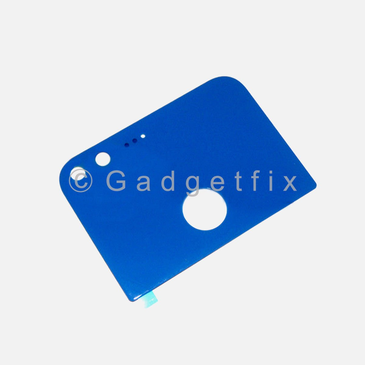 Blue Back Camera Glass Lens Cover With Adhesive For Google Pixel 5.0