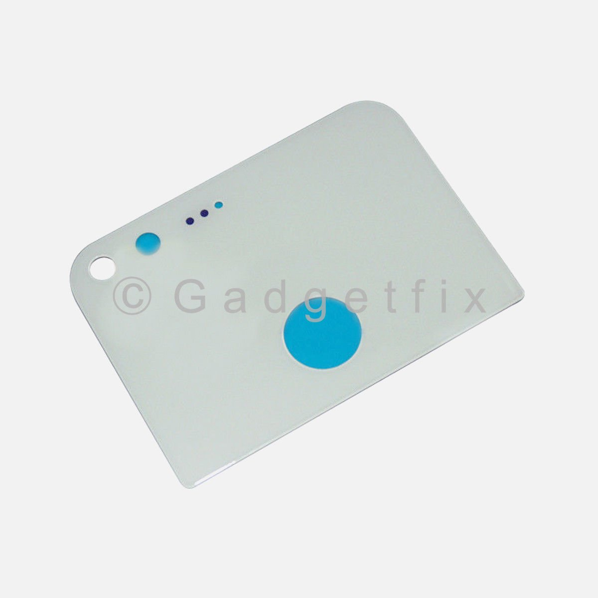 White Back Camera Glass Lens Cover With Adhesive For Google Pixel 5.0