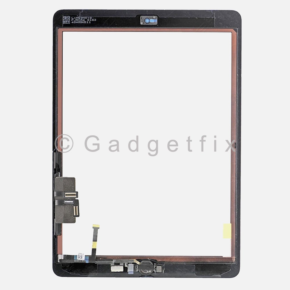Touch Screen Digitizer Glass + Home Button for iPad 2017 5th Gen A1822 A1823
