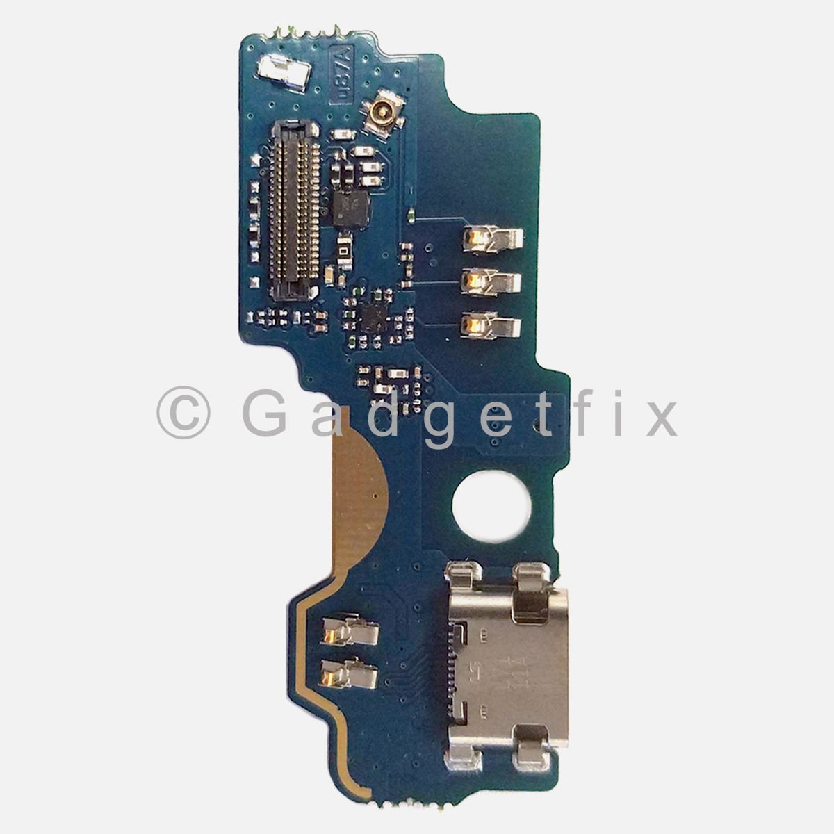 ZTE ZMAX Pro Z981 USB Charger Charging Port Dock Connector Flex Cable + Mic