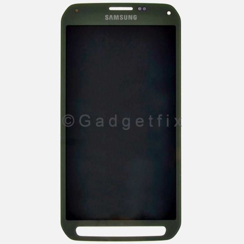 US Green Samsung Galaxy S5 Active G870 G870A LCD Screen Digitizer Touch Grade A