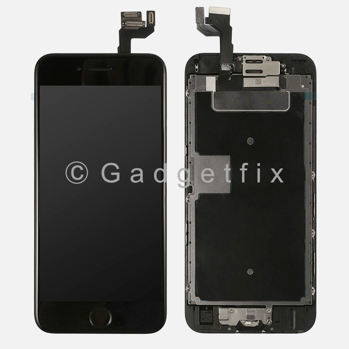 LCD Screen Display Touch Screen Digitizer + Home Button + Frame for iphone 6S