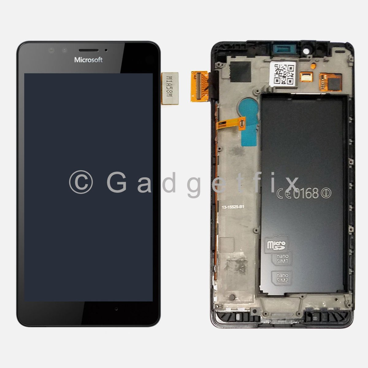 US Microsoft Lumia 950 Display LCD Screen Touch Screen Digitizer + Frame Housing