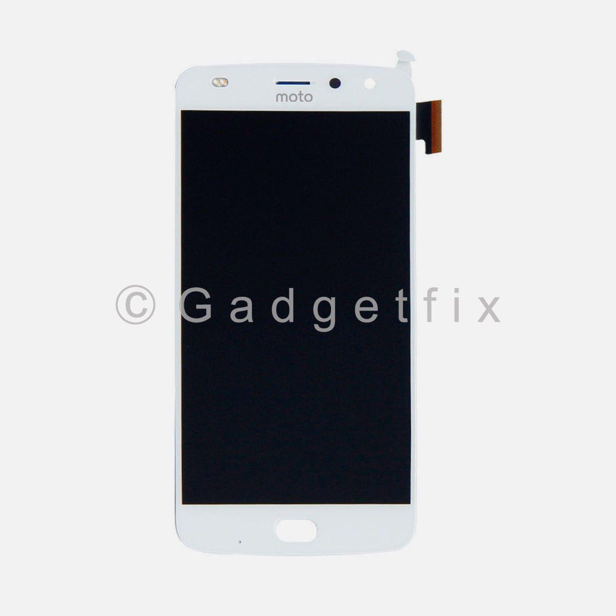 White Motorola Moto Z2 Play XT1710-01/07/08/10 LCD Display Touch Screen Digitizer