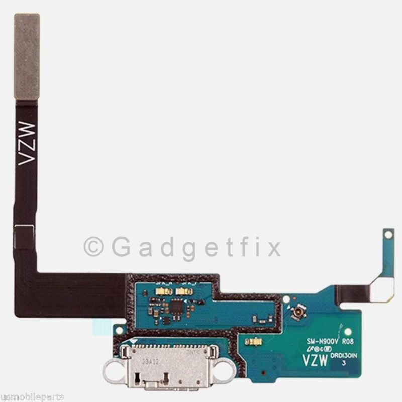 US Samsung Galaxy Note 3 N900V USB Flex Cable Charger Charging Dock