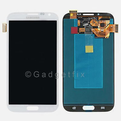White Samsung Galaxy Note 2 N7105 i317 T889 i605 L900 R950 LCD Touch Digitizer Screen Assembly