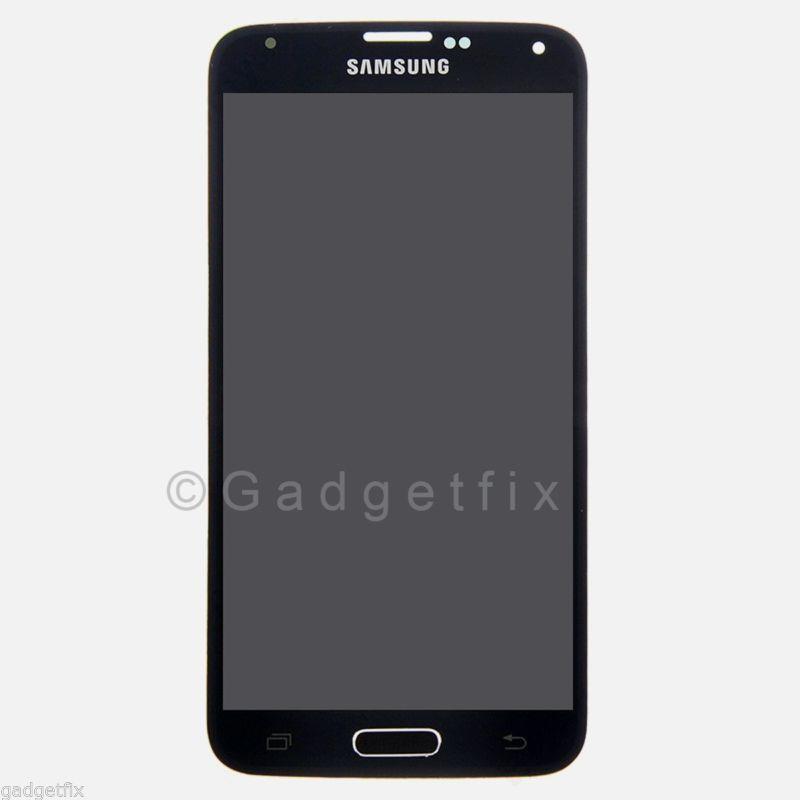 Samsung Galaxy S5 G900A G900T G900V G900P LCD Screen Touch Digitizer Assembly A