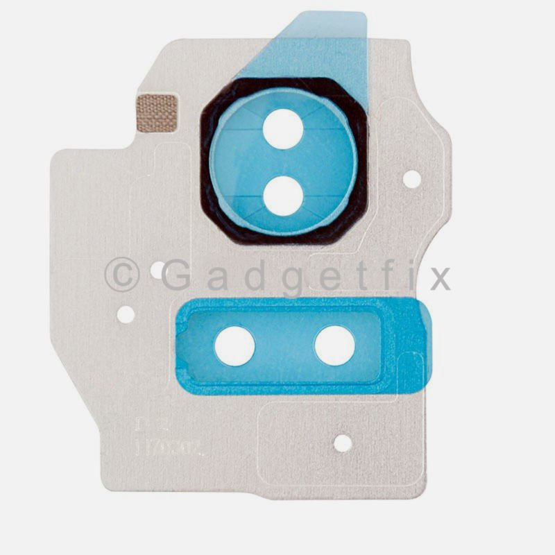 US Samsung Galaxy S8 G950A G950T G950V G950P Silver Back Camera Lens Cover Flash
