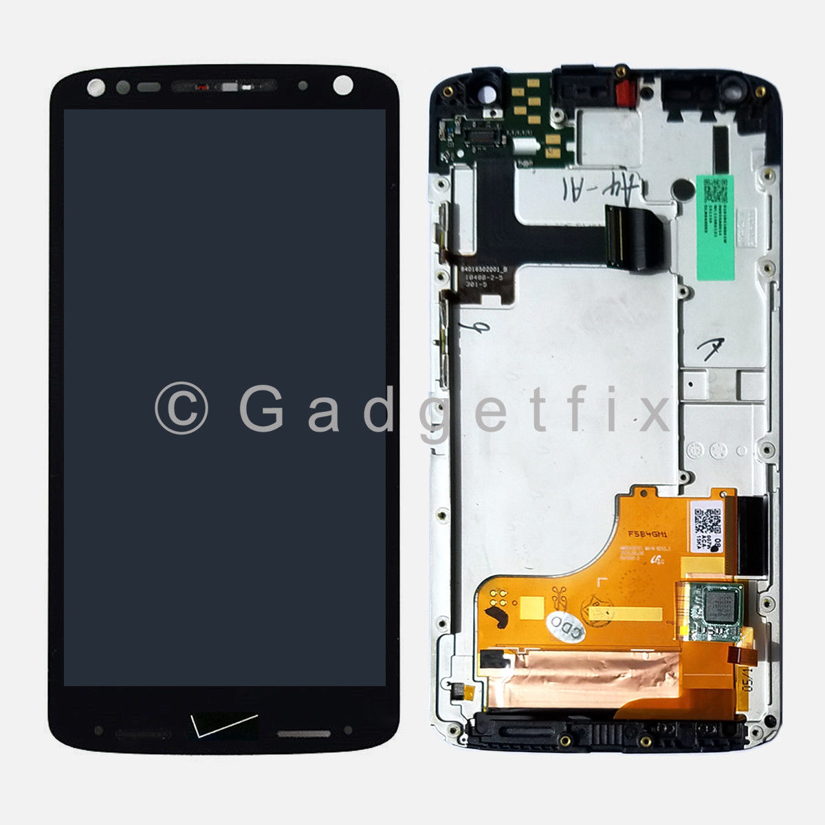 Verizon Motorola Droid Turbo 2 XT1585 LCD Display Touch Screen Digitizer Frame A