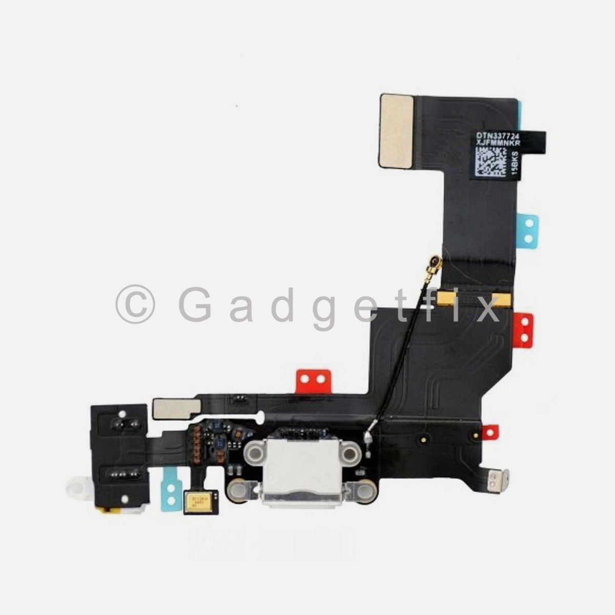 White Charging Charger Port Dock Headphone Audio Jack Flex Cable for Iphone SE