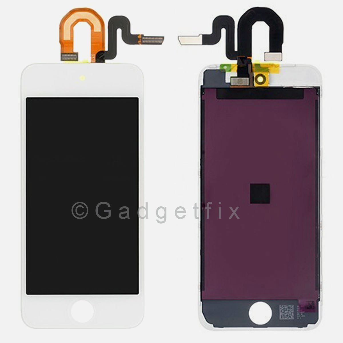 White Ipod 6th Generation Screen Replacement And Digitizer