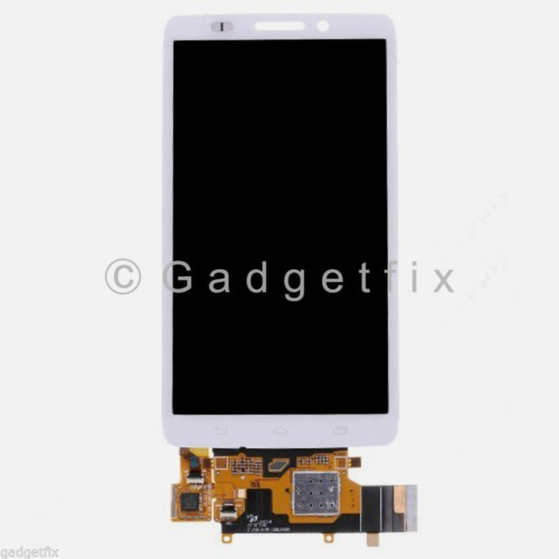 White Motorola Droid Ultra XT1080 MAXX 1080M LCD Display Screen Digitizer Touch