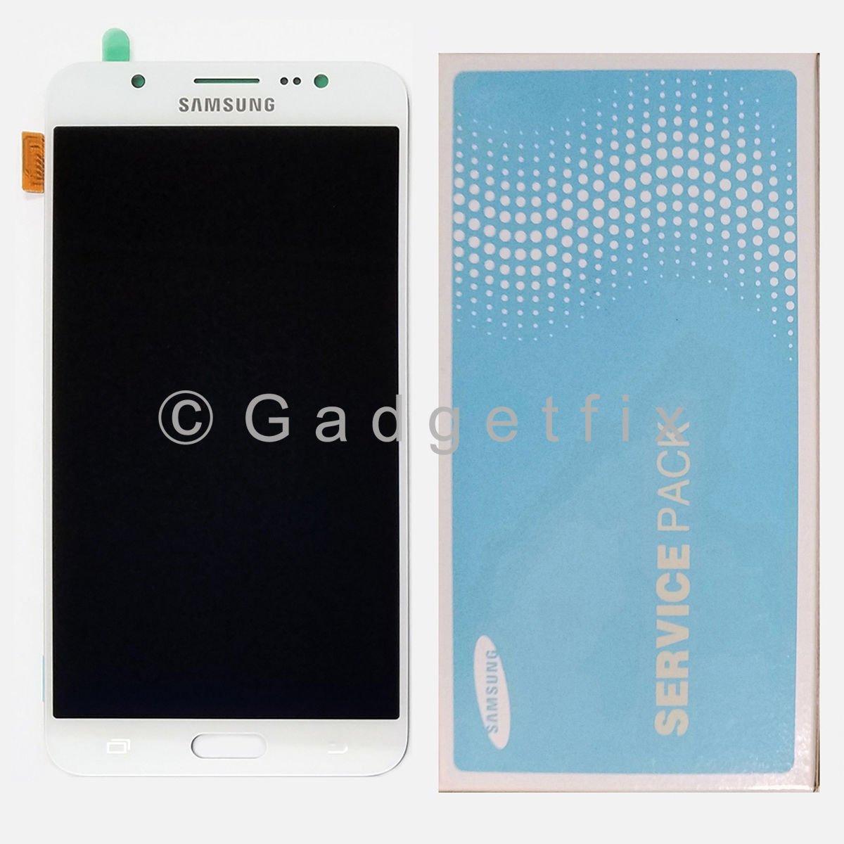 White Samsung Galaxy J7 2016 J710 J710F J710K J710MN J7108 LCD Display Touch Screen Digitizer