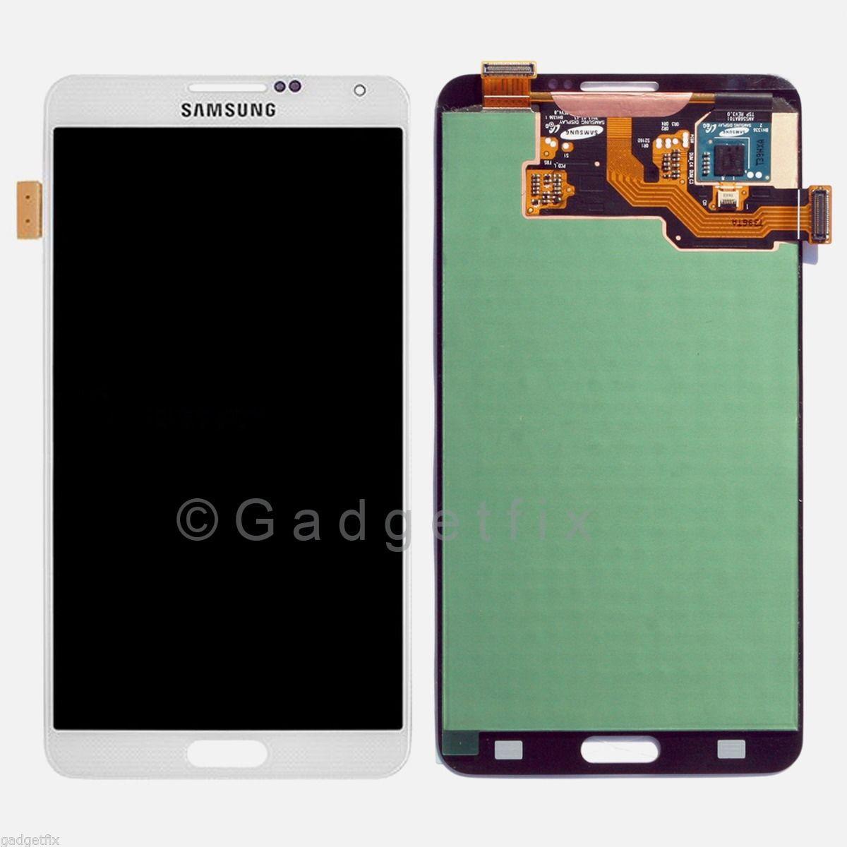 White Samsung Galaxy Note 3 N9005 N900V N900P LCD Display Touch Screen Digitizer