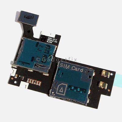 AT&T Samsung Galaxy Note II 2 i317 Sim Tray Memory Holder Slot Flex Ribbon Cable