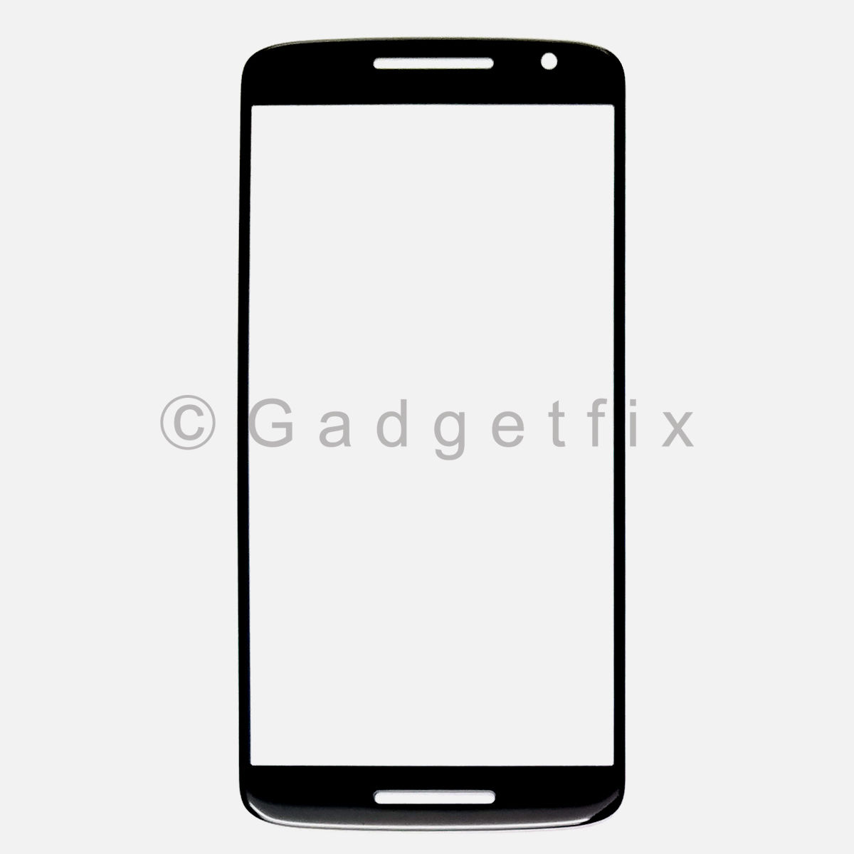 Black Front Screen Glass Lens for Motorola Moto Play X 3rd XT1563 XT1562 XT1561