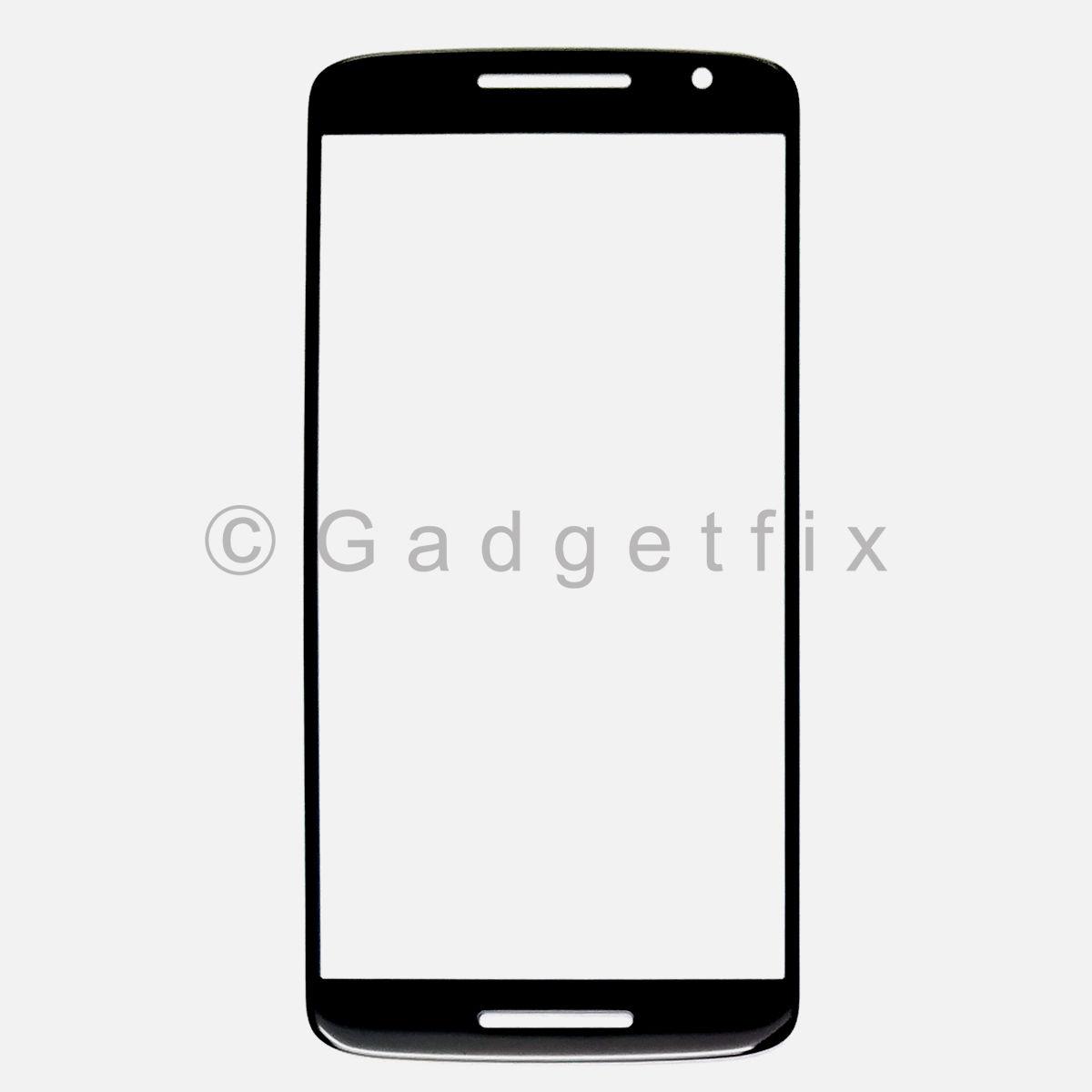 Black Front Screen Glass Lens for Motorola Moto Play X 3rd XT1563 XT1562 XT1561