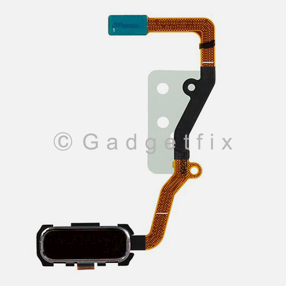 Black Home Button with Flex Cable Replacement Parts For Samsung Galaxy S7 Edge