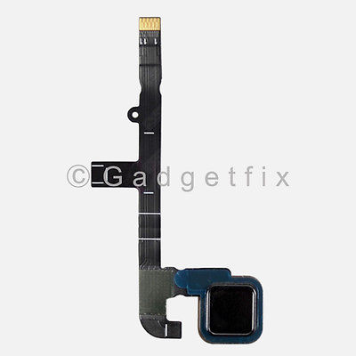 Black Home Menu Button Flex Cable Key Assembly for Motorola MOTO Z Play XT1635