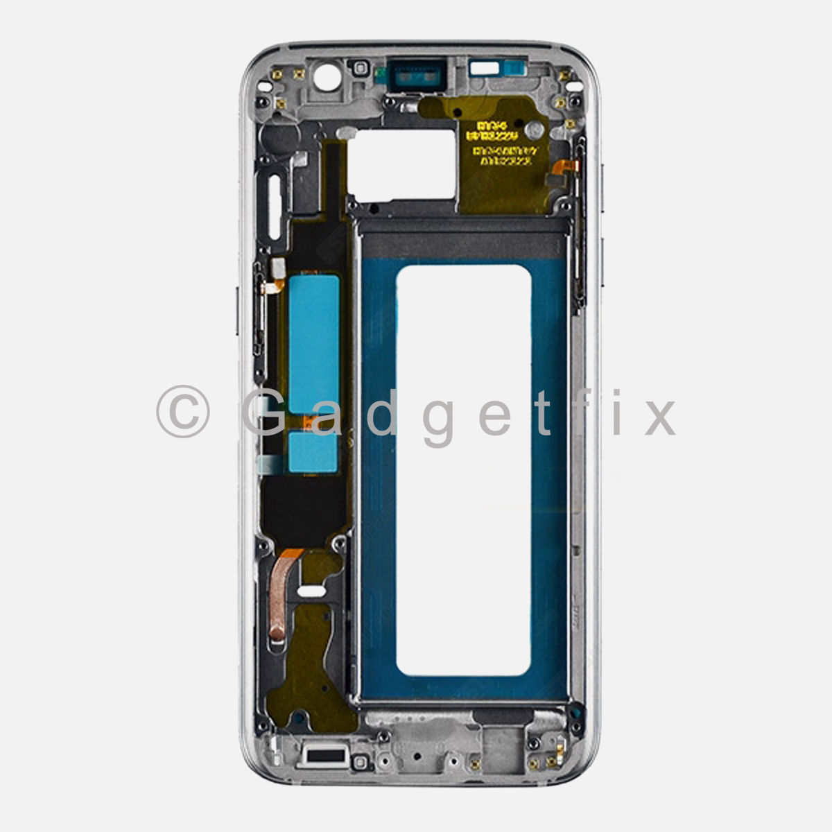 Black Samsung Galaxy S7 Edge G935A G935T G935V G935P G935F Middle Housing Frame Bezel Mid Chassis